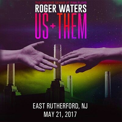 ROGER WATERS 2 CD Live East Rutherford 2017 EXCELLENT Us+Them Tour
