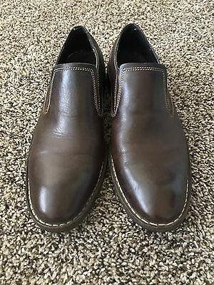 Men's Cole Haan Dress Shoe Loafer, Dark Brown, Great Condition, Size 10
