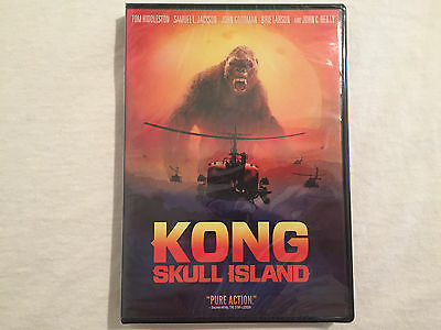 Kong: Skull Island (DVD) (DVD, 2017) BRAND NEW - FREE SHIPPING TO THE US!!!