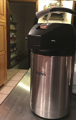BUNN AIRPOT Coffee SVAP Series Thermal Commercial Stainless Steel (Mega Sale)
