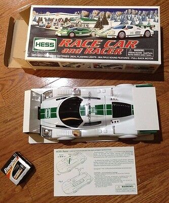 2009 Hess Racer Car and Racer MIB
