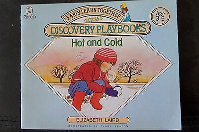 Hot and Cold (Piccolo Early Learn Together) Laird Elizabeth Paperback Book 87 ed