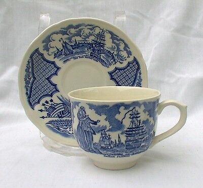 Alfred Meakin FAIR WINDS BLUE Cup & Saucer Sets