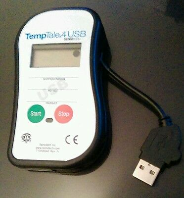 Sensitech Temp Tale 4 Usb Probe Life Science Monitor