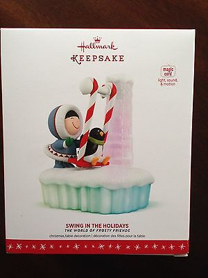 Hallmark 2016 The World Of Frosty Friends Swing In The Holidays
