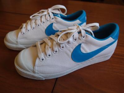 VTG 1982 Nike Blazer Canvas Low-top Sneakers - Shoes - EX Condition - Women's 7