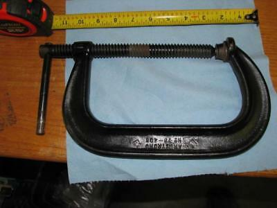 Armstrong Drop forged C clamp American steel USA