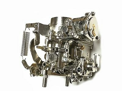 34 PICT-3 Chrome VW Bug Bus Volkswagen Carb 12V Electric Choke Carburetor