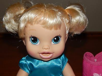 Baby Alive Retired Interactive Doll BABY ALL GONE 2013 With  Accessories