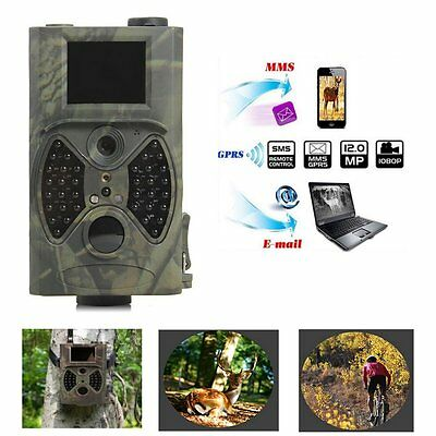 SunTek HC-300A Wildlife Digital Infrared Trail Hunting Camera With Remote Hot
