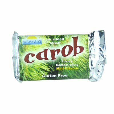 Luxury Carob Bars - Mint - 50g - Pack of  24