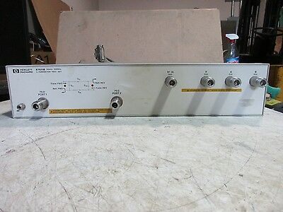Agilent / HP 87511B 100 kHz to 500 MHz S-Parameter Test Set, 75 Ohm with Cable