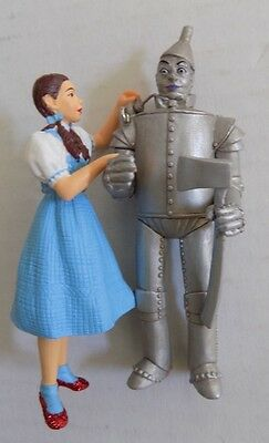 Dorothy and the Tin Man THE WIZARD OF OZ ORNAMENT Oil Can HALLMARK 2003  NOS