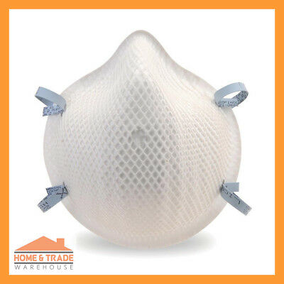 P2 Particulate Respirator MOLDEX 2200 Disposable Safety Dust Mask Box of 20