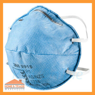 P1 Specialty Respirator 3M 9915 Dust Mist Nuisance Acid Activated Carbon Layer