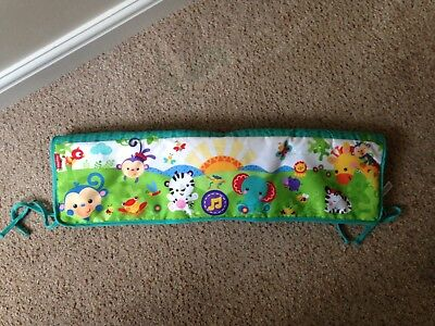 Fisher Price Rainforest Musical Lullaby Cot Rail