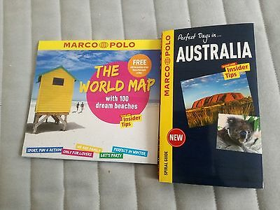 ***NEW***Australia Marco Polo Spiral Guide + the world map!!!