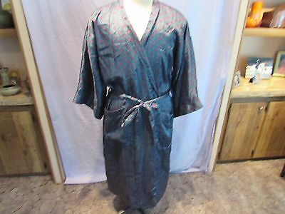 Dior Christian Dior Monsieur Mens Vintage Robe One Size Unisex  Red Green
