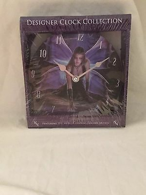 Anne Stokes - 18cm Immortal Flight Clock