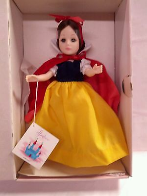 """VINTAGE EFFANBEE SNOW WHITE DOLL, Storybook Collection, New IOB, #FB1180, """"1987"""""""