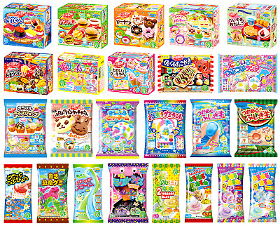 10 KRACIE POPIN COOKIN KITS. DIY Japanese candy. Happy Kitchen Poppin Christmas