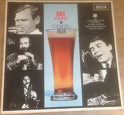 HOT JAZZ COOL BEER various artists 1962 INDIA DECCA MONO VINYL LP