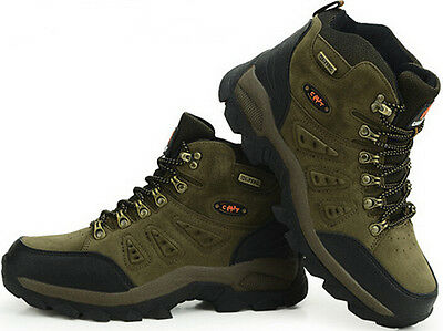 Men's Athletic Sports Outdoor Hiking Mountain Climbing Trekking Dunk High Shoes