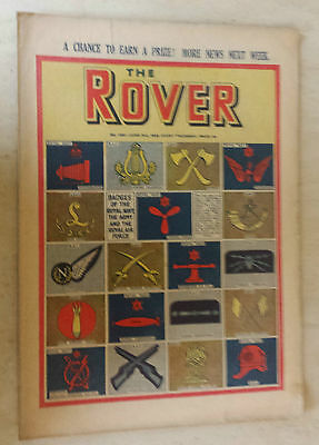 Comic- THE ROVER, NO 1301, 3rd June 1950