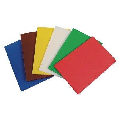 Pack of 6 Hygiplas Flexible Colour Coded Cutting Mats Multi