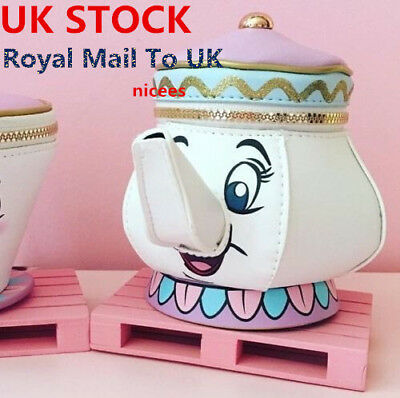 Primark DISNEY MRS POTTS PURSE BEAUTY AND THE BEAST BAGS HANDBAGS XMAS GIFTS