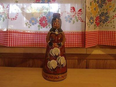 Tole Painted, Aunt Jemima Bottle. Signed By The Artist.