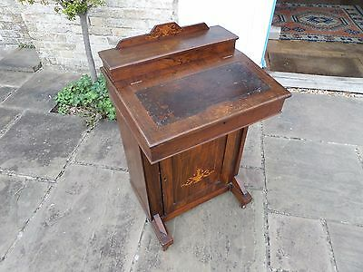 Davenport port desk. Looks better than it is! Rebuilt as a decorative object.