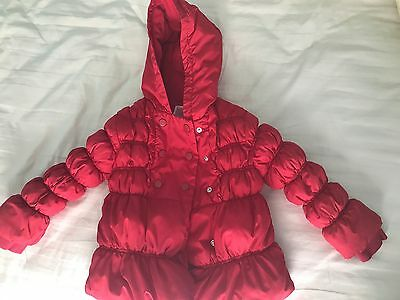 GYMBOREE Puffer Jacket Girl's Child Size S (5-6) Red