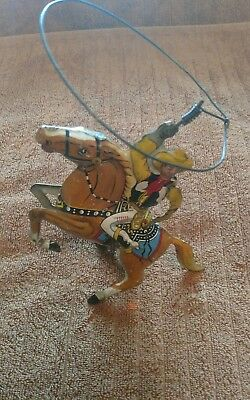 Circa 1938 Roy Rodgers wind up toy