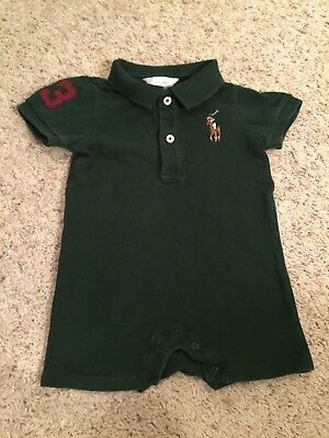 Baby Boy Ralph Lauren One Piece Outfit Size 9 Months