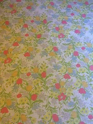Dantrel Floral Pink White Twin Fitted And Flat Sheet Cutter Fabric Muslin USA
