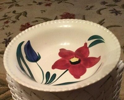 PAINTED BLUE RIDGE Southern Potteries Vegetable Bowl Vgc