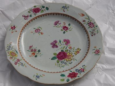 Chinese export vintage plate very old