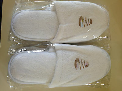 Watergate hotel in Washington DC slippers 2017 one size fits all 2 pairs