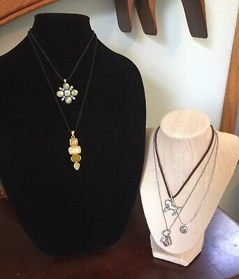 Lot (5) Sophia Sophia Necklaces Jeweled Dancing Horse More