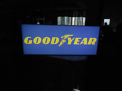 Goodyear Lighted Tire Sign