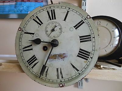 Old Ships Clock Fusee movement Working