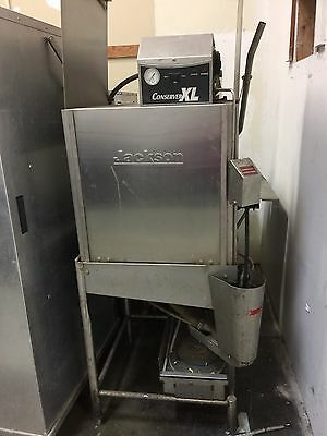 Jackson Conserver XL Low Temperature Door-Type Dish Machine Dish Washer