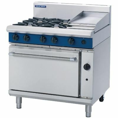 Blue Seal 900mm Oven Range with 4 Burners and Griddle