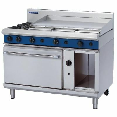 Blue Seal 1200mm Oven Range with 2 Burners and Griddle