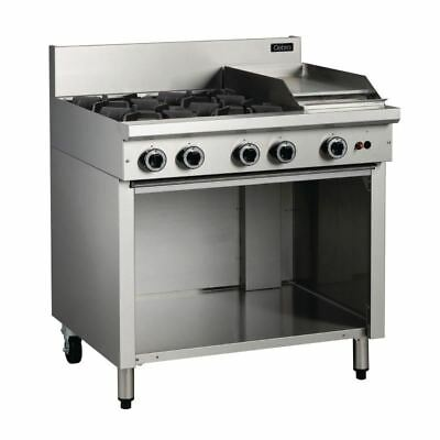 Cobra Cooktop with 4 Burners and Griddle On Cabinet Base