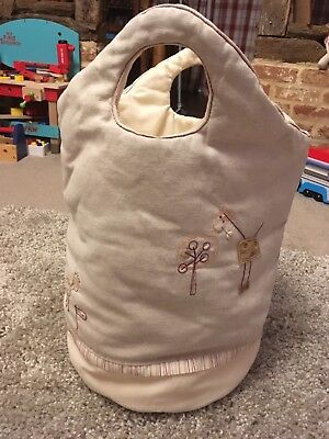 Mamas And Papas LinEar Zoo Laundry Toy Bag Excellent Condition Used For Toys