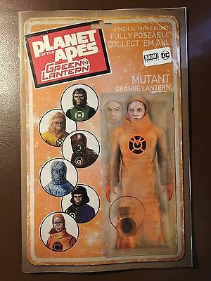 DC / Boom comics:  PLANET OF THE APES / GREEN LANTERN # 6 figure cover variant