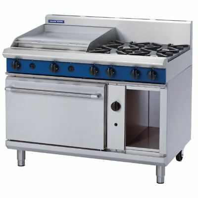 Blue Seal 1200mm Oven Range with 4 Burners and Griddle