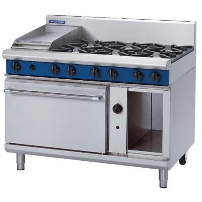 Blue Seal 1200mm Oven Range with 6 Burners and Griddle